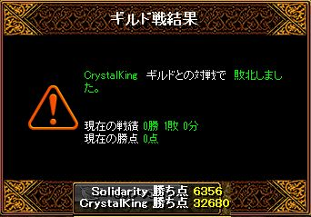 RedStone 13.02.10 結果