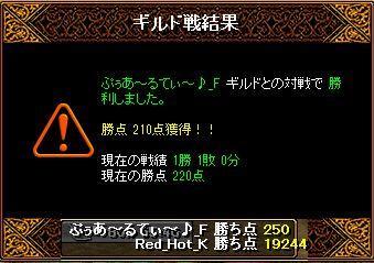 RedStone 13.05.30 結果