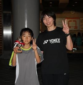 聖玲夏(コーチと一緒に♡)