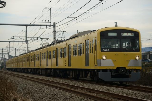 20141220-3000系3009F試運転2