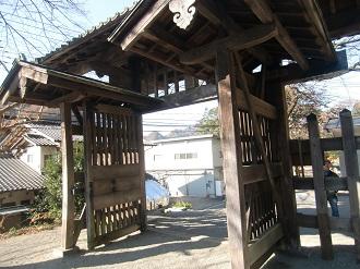 門(内側)