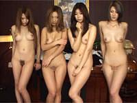 【無修正】3D!目の前に全裸のイイ女が4人!稲川なつめ AIKA 長瀬真子 明日香クレアによるハーレム大乱交。
