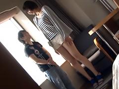 高身長180cmモデル美女 vs 150cm巨根小男!身長差30cmファック!