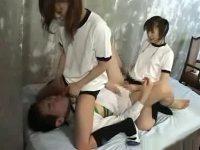 女子校生たちにペニバンでひたすら犯される
