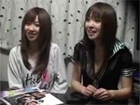 【盗撮】可愛い2人の女の子を部屋に連れ込みSEXしているめちゃ羨ましい映像!