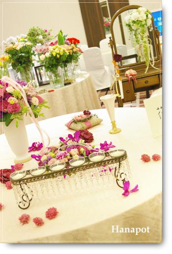 ◆京から届く「花物語」◆日常花がもっと楽しくなる 自分らしい「花のある暮らし」 京都の花屋 花pot(ポット)-BF会場