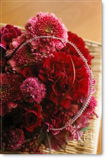 ◆京から届く「花物語」◆日常花がもっと楽しくなる 自分らしい「花のある暮らし」 京都の花屋 花pot(ポット)-母の日レッド