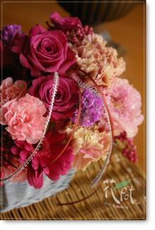 ◆京から届く「花物語」◆日常花がもっと楽しくなる 自分らしい「花のある暮らし」 京都の花屋 花pot(ポット)-母の日ピンク