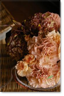 ◆京から届く「花物語」◆日常花がもっと楽しくなる 自分らしい「花のある暮らし」 京都の花屋 花pot(ポット)-母の日ブラウン