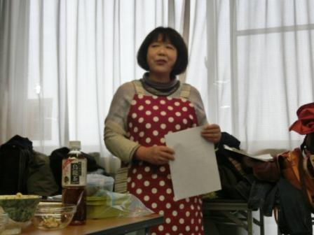 中村和子さんの講和