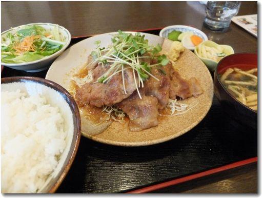 生姜焼き定食♪