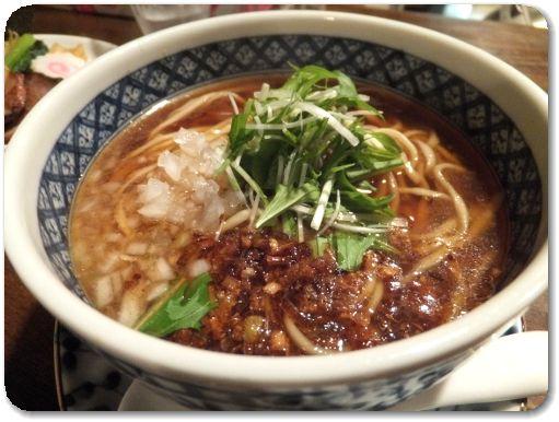 かけらぁ~麺(しょう油・平打ち麺)♪