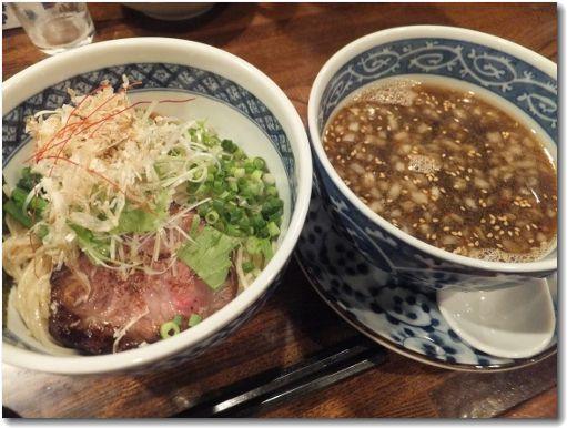 煮干しつけ麺(しょう油)♪