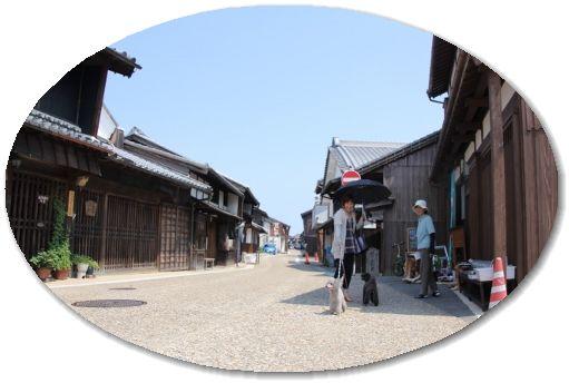 関宿の街並み♪