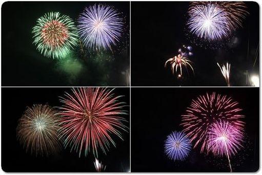 焼津海上花火大会2012♪