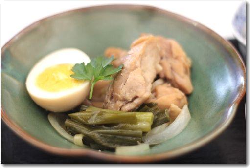 鶏肉の黒酢煮♪