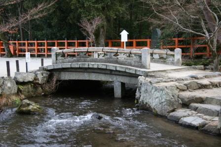 上賀茂神社神事橋_H18.02.18