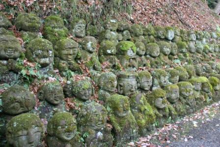 愛宕念仏寺の千二百羅漢_H24.12.23撮影