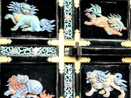 西本願寺唐門・獅子 H24.12.24撮影