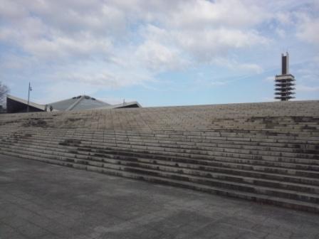 駒沢公園大階段北側_H25.02.05撮影