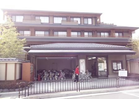 嵐山駅前阪急レンタサイクル_H25.03.16撮影