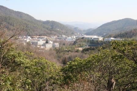 八坂寺から見える風景_H25.03.16撮影