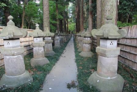 平林寺大河内松平家廟所に向かう道_H25.04.07撮影