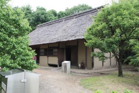 江戸東京たてもの園八王子千人同心組頭の家_H25.06.09撮影