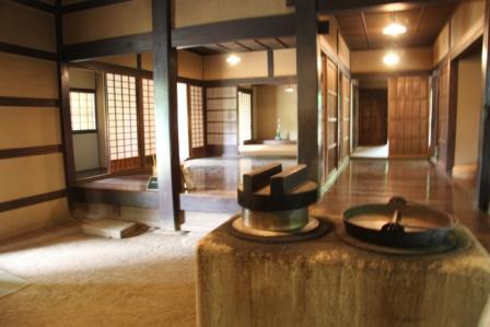 江戸東京たてもの園八王子千人同心組頭の家内部_H25.06.09撮影