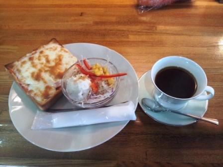 喫茶Oliveモーニング_H25.0615撮影