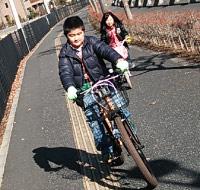 自転車_そうた&ユキ