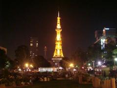 ライトアップテレビ塔