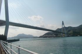 生口橋入り口
