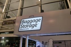baggege storage①