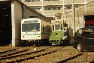 デオ700系711 + デト1001形