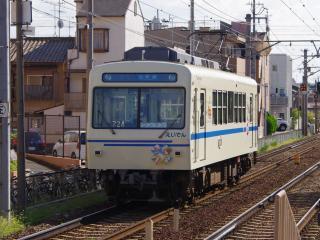 デオ700系724 鞍馬方