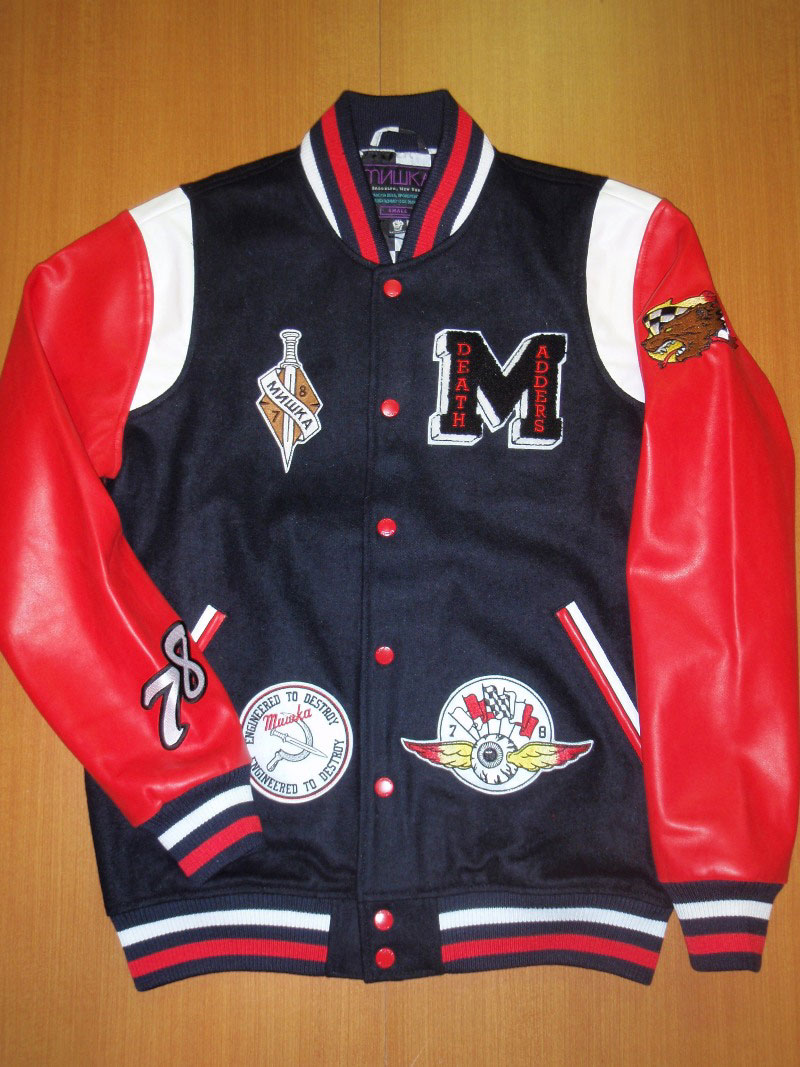 2014 Fall Mishka Jacket Varsity STREETWISE ストリートワイズ ジャケット スタジャン 神奈川 藤沢 湘南 スケート ファッション ストリートファッション ストリートブランド