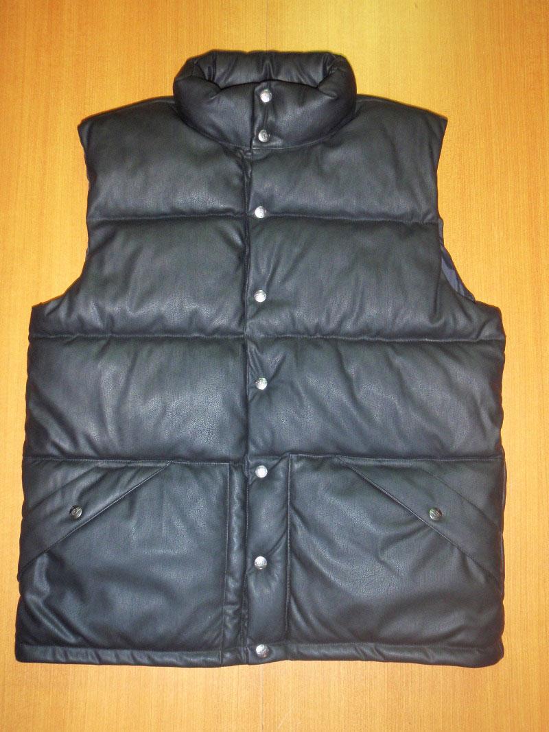 2014 Fall ADDICT Vest Virtual Leather STREETWISE ベスト レザー バーチャルレザー ストリートワイズ 神奈川 藤沢 湘南 スケート ファッション ストリートファッション ストリートブランド
