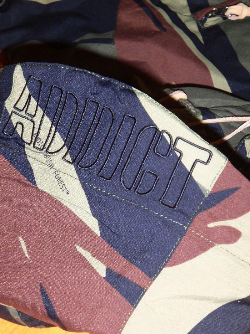 2014 Fall ADDICT Jacket Camo STREETWISE ジャケット カモ ストリートワイズ 神奈川 藤沢 湘南 スケート ファッション ストリートファッション ストリートブランド