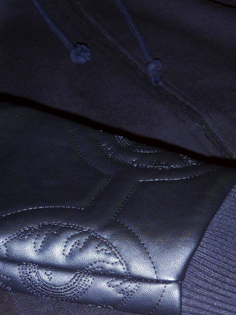 2014 Fall Mishka Hoodie Quilty Leather STREETWISE フーディー レザー ストリートワイズ 神奈川 藤沢 湘南 スケート ファッション ストリートファッション ストリートブランド