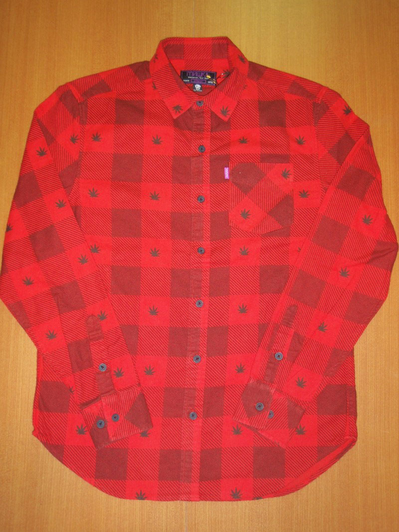 2014 Holiday Mishka Shirt Button Up STREETWISE シャツ ボタンアップ ストリートワイズ 神奈川 藤沢 湘南 スケート ファッション ストリートファッション ストリートブランド