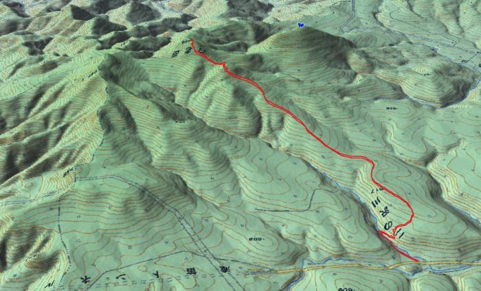 白老岳20130126GPS2