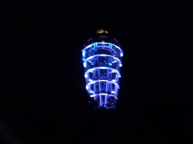 ライトアップ灯台