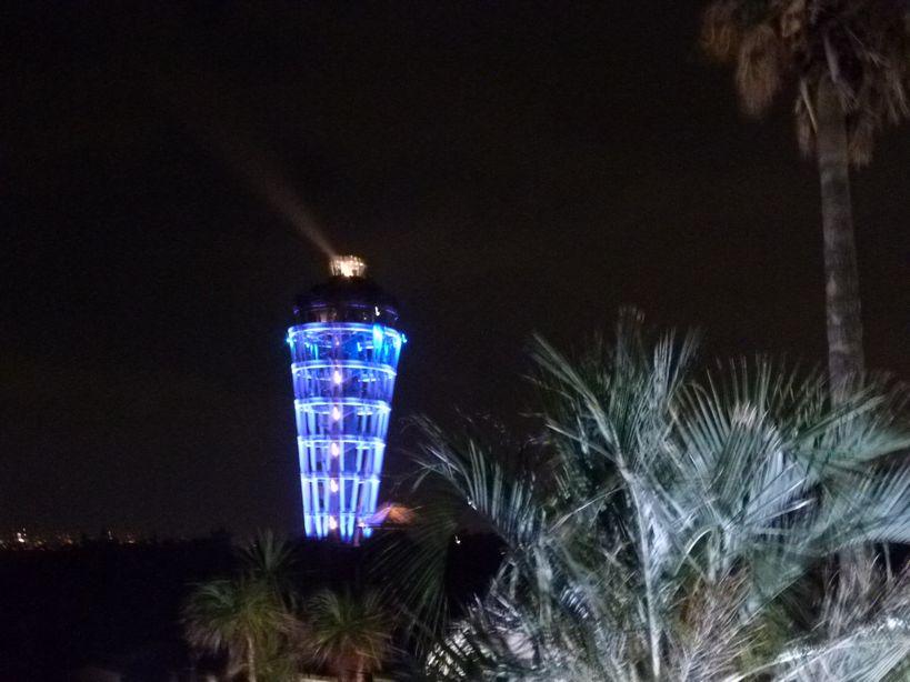 ライトアップ江ノ島灯台