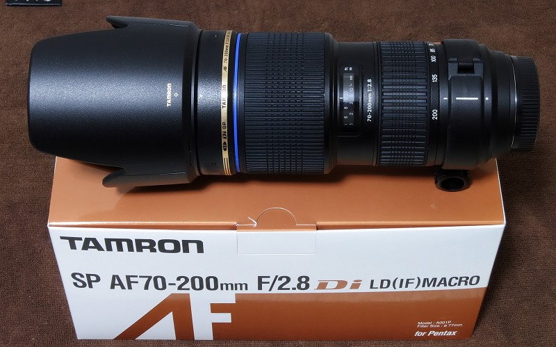 TAMRON SP AF70-200mm F/2.8 Di LD [IF] MACRO(Model A001)