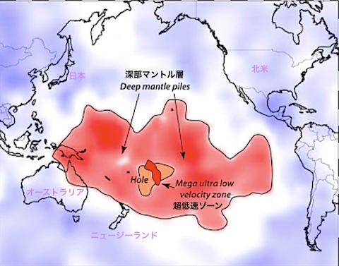 太平洋マントル
