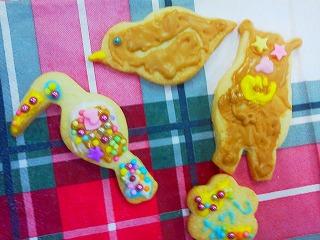 子供アイシングクッキー出張レッスン西宮