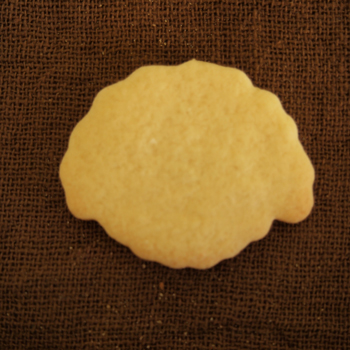 自作犬のクッキー型販売トイプードル