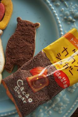 もこもこココナッツ型抜きクッキー