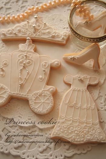 アイシングクッキー型お姫様花嫁シリーズ